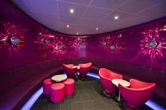 Interior do clube noturno Fotos de Stock Royalty Free