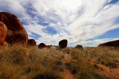 Interior do deserto australiano fotos de stock