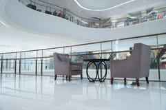 Interior do edifício moderno Fotos de Stock Royalty Free