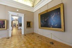 Interior do eremitério do estado. St Petersburg Fotos de Stock