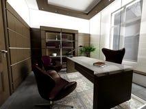Interior do escritório Foto de Stock