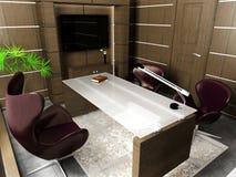 Interior do escritório Fotos de Stock Royalty Free