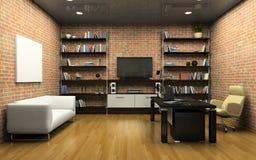 Interior do escritório confidencial Foto de Stock