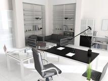 Interior do escritório moderno Foto de Stock Royalty Free