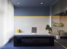 Interior do escritório Fotografia de Stock Royalty Free