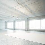 Interior do estúdio da foto imagem de stock