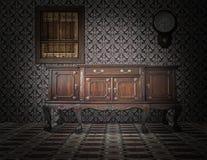 Interior do estilo antigo Fotos de Stock Royalty Free