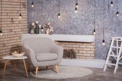Interior do estilo escandinavo fotos de stock