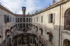 Interior do Fort Boyard em França, Charente-marítimo, França fotos de stock royalty free