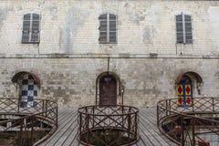 Interior do Fort Boyard em França, Charente-marítimo, França fotografia de stock royalty free