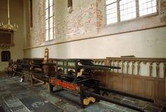 Interior do grande de Sint-Gertrudischurch Imagem de Stock