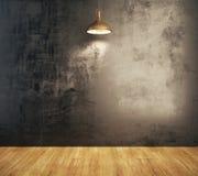 Interior do Grunge com parede vazia Imagem de Stock Royalty Free