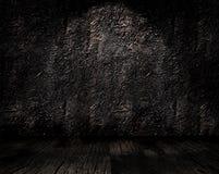 interior do grunge 3D ilustração do vetor
