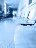 Interior do hospital Imagem de Stock