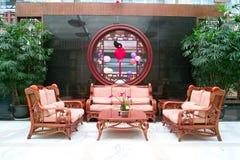Interior do hotel chinês foto de stock royalty free