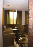Interior do hotel moderno Imagem de Stock