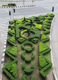 Interior do jardim no sinal Imagens de Stock Royalty Free