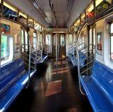 Interior do metro Fotos de Stock