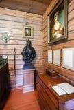 Interior do museu Alexander Suvorov na museu-propriedade Fotos de Stock
