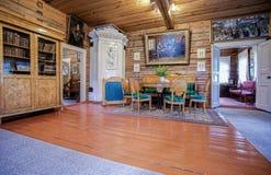 Interior do museu Alexander Suvorov na museu-propriedade Foto de Stock Royalty Free