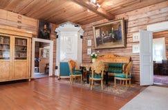 Interior do museu Alexander Suvorov na museu-propriedade Imagens de Stock Royalty Free