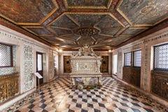 Interior do museu da cidade Fotografia de Stock Royalty Free