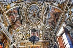 Interior do museu de Capitoline, Roma Fotografia de Stock