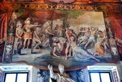 Interior do museu de Capitoline, Roma Itália Fotografia de Stock Royalty Free