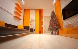 Interior do Natal Imagem de Stock