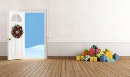 Interior do Natal Imagens de Stock