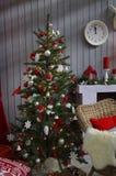 Interior do Natal Fotografia de Stock