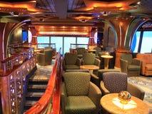 Interior do navio de Cruiuse Foto de Stock Royalty Free