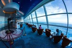 Interior do navio de cruzeiros Imagem de Stock
