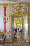 Interior do palácio de Catherine foto de stock