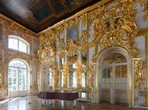 Interior do palácio de Catherine Fotografia de Stock