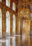 : Interior do palácio de Catherine imagens de stock