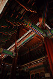 Interior do palácio de Gyeongbokgung Foto de Stock