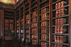 Interior do palácio de Monserrate foto de stock royalty free