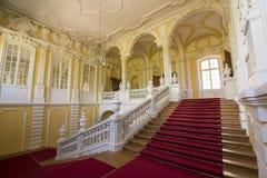 Interior do palácio de Rundale Fotografia de Stock