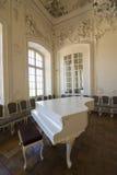 Interior do palácio de Rundale Imagens de Stock