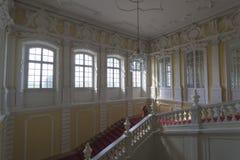 Interior do palácio de Rundale Foto de Stock