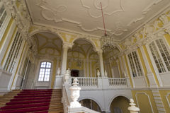 Interior do palácio de Rundale Imagem de Stock Royalty Free