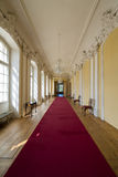 Interior do palácio de Rundale A galeria pequena Foto de Stock Royalty Free