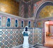 Interior do palácio de Yusupov em St Petersburg Imagens de Stock