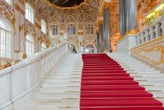 Interior do palácio do inverno Imagens de Stock Royalty Free