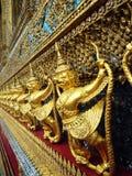 Interior do palácio grande em Banguecoque fotografia de stock royalty free