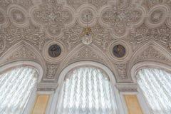 Interior do palácio do inverno no quadrado do palácio em St Petersburg, Fotografia de Stock Royalty Free