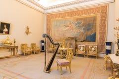 Interior do palácio do inverno no quadrado do palácio em St Petersburg, Foto de Stock