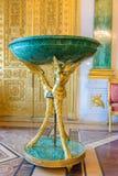 Interior do palácio do inverno no quadrado do palácio em St Petersburg, Imagens de Stock
