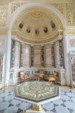 Interior do palácio do inverno no quadrado do palácio em St Petersburg, Fotos de Stock